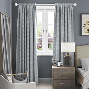 Longridge, Eau De Nil - Made to Measure Curtains