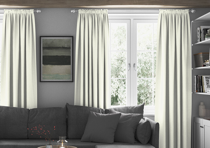 Mayfair, Ivory - Made to Measure Curtains