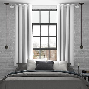 Mayfair, White - Made to Measure Curtains