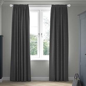 Nova, Ebony - Made to Measure Curtains
