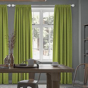 Nova, Lime - Made to Measure Curtains