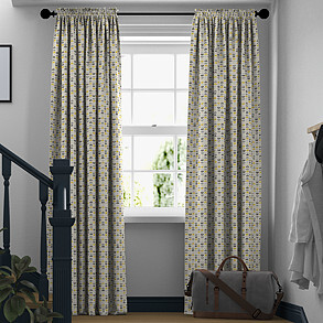 Odense, Ochre - Made to Measure Curtains