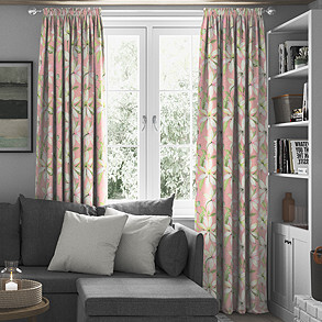 Olivia, Blossom - Made to Measure Curtains