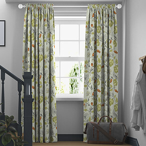 Parchment, Fern - Made to Measure Curtains