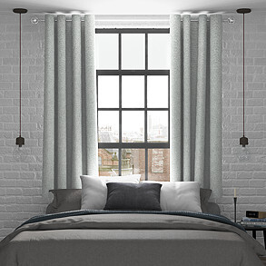Rya, Dove - Made to Measure Curtains