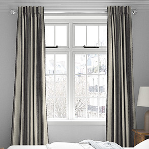 Selva, Graphite - Made to Measure Curtains