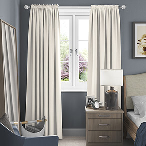 Windsor, Ivory - Made to Measure Curtains