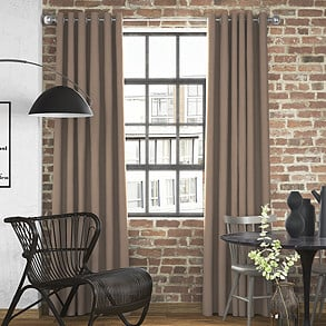 Windsor, Taupe - Made to Measure Curtains