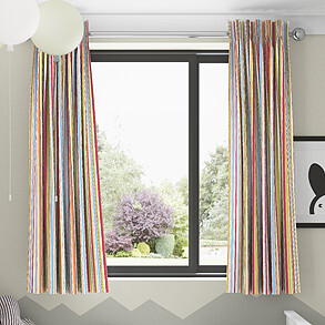 Zoom, Paintbox - Made to Measure Curtains